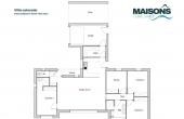 Plan villa Colorado